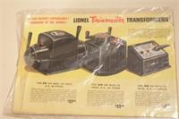1947 Lionel Catalog