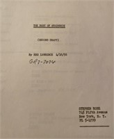 """Transcript of """"The Best of Steinbeck"""" Reg Lawrence"""