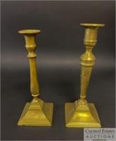 Steinbeck Desk Lamp and Candlesticks