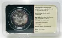 2001 Silver American Eagle $1 Coin