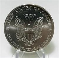 2002 Liberty 1 oz. Fine Silver One Dollar Coin