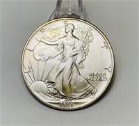 1991 Liberty 1oz Fine Silver One Dollar Coin