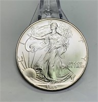 1995 Liberty 1oz Fine Silver One Dollar Coin