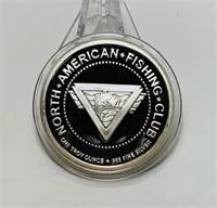 1 TROY Ounce .999 fine Silver,in case
