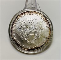 2002 Liberty 1oz Fine Silver One Dollar Coin,