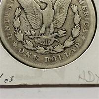 1878 cc  Carson City Morgan Dollar Coin