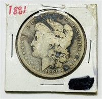 1881 Morgan Dollar Coin