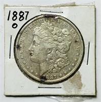 1887o Morgan Dollar Coin