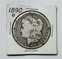 1890 o Morgan Dollar Coin
