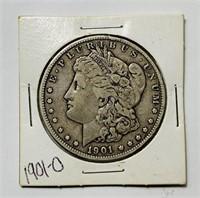 1901 o Morgan Dollar Coin