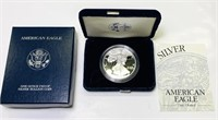 2001 w American Eagle 1oz Proof Silver Dollar Coin