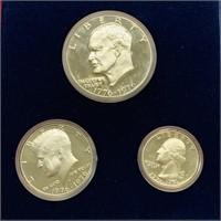 US Bicentennial Silver Proof Set