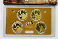 2007 US Mint Presidential 1 Dollar Coin Proof Set