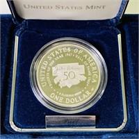 1997 Jackie Robinson Dollar Coin
