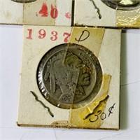 (11) Buffalo Nickels