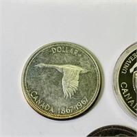 (3) Canada Dollar Coins