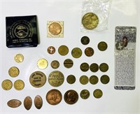 Lot of token/ Souvenir Coins
