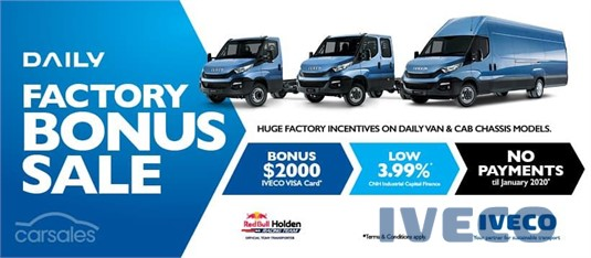 2019 Iveco Daily 35S13 Iveco Trucks Sales - Trucks for Sale