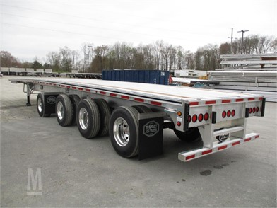 Mac Trailer Mfg Flatbed Trailers For Sale 296 Listings Marketbook Ca Page 1 Of 12