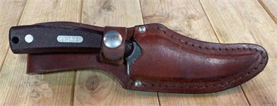 OLD TIMER KNIFE W LEATHER SHEATH Other Items For Sale 1