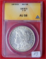 Weekly Coins & Currency Auction 1-10-20