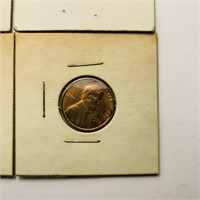 (36) 1970's Pennies all Stamped