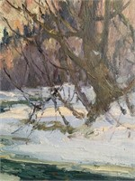 Manly E MacDonald (1889-1971) Oil on Board