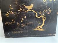 Excellent Chase & Sandborn Coffee Box