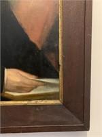 Original Robert Whale (1805-87) Oil-Canvas Portrai