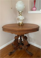 Stunning Cherry Top Parlor Table