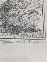 Ltd Edition Peter Etril Snyder Print