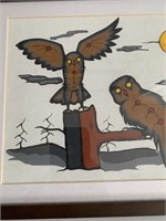 Zeb Sturgeon 95 Inuit Art Painting