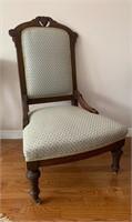 Antique Parlor Chair