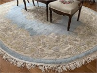 Large Floral Area Rug 8' X 10'