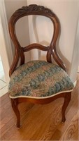 Antique Hand Carved Parlor Chair
