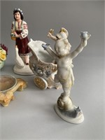 Grouping of as Found Figurines