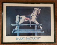 Signed Barry McCarthy Poster