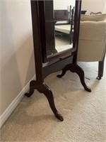 Fine Full Length Dressing Mirror