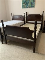 Pair of GIbbard Poster Single Beds