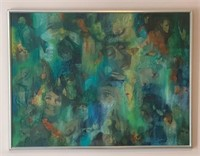 Outstanding Abstract Mixed Media Art Piece