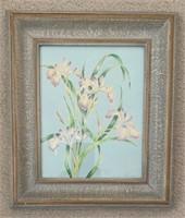 Anne Lauders Original Painting of Lilies