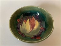 Moorcroft Leaf and Berry Dish-Footed
