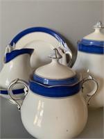 Mid Century Porcelain Tea Set