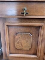 Antique Two Door Cherry Sideboard