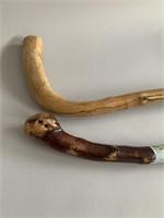 Pair of Old Walking Sticks