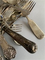 Group of Mixed Cutlery