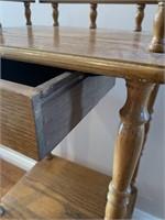Modern Oak Telephone Table