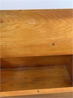 Pine Hand Crafted Bench with Storage