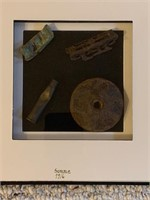 Frame Dug Artifacts from The Battle of Somme 1916