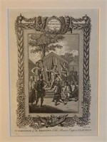 Early Raymond's History of England Engraving